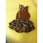 Платье-леопард